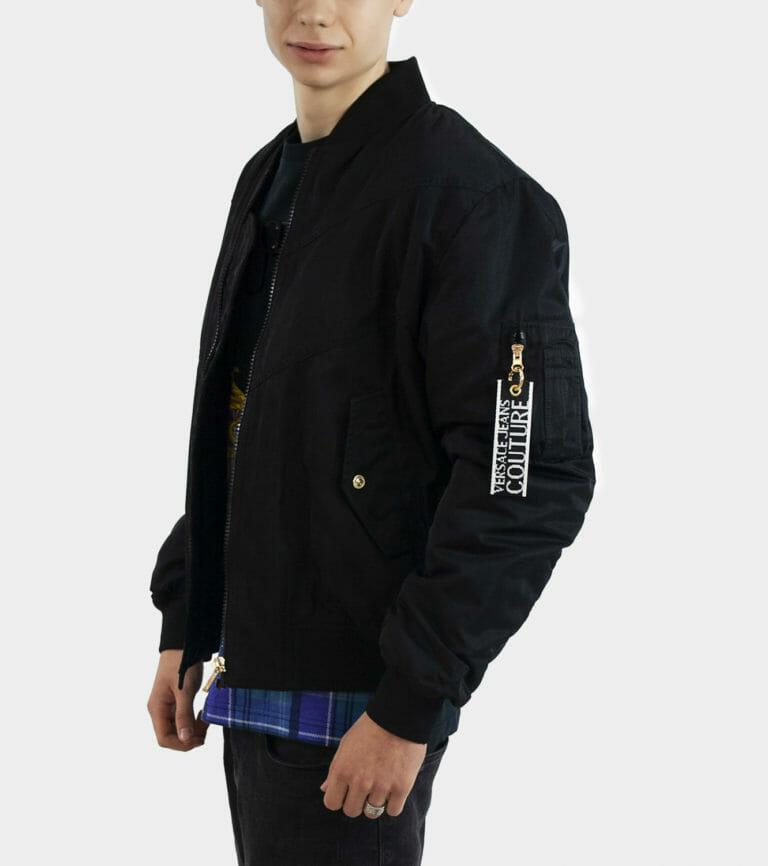 versace jeans couture czarna meska kurtka 3
