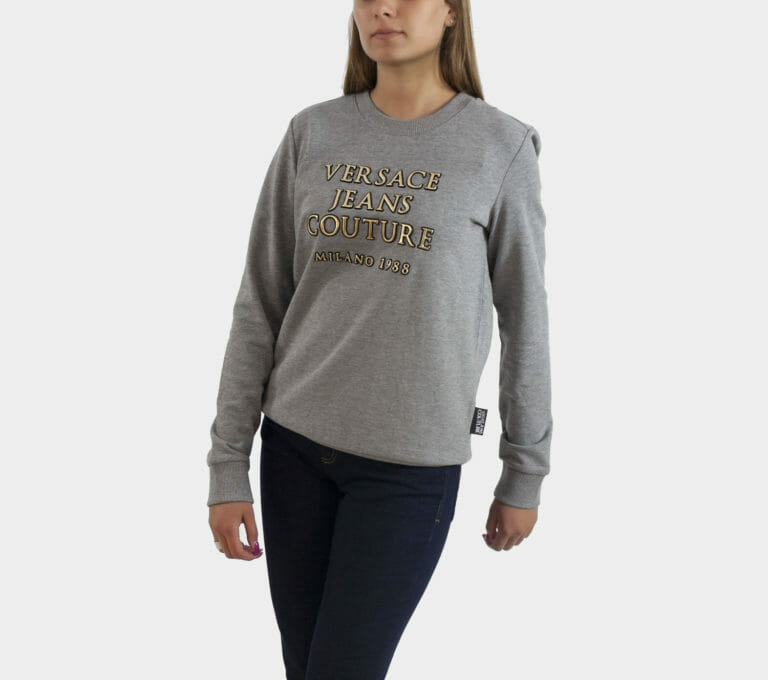 versace jeans couture szara bluza