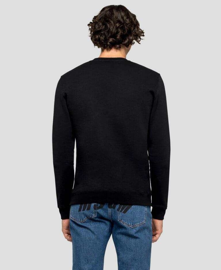 Bluza czarna z logo MSGM3