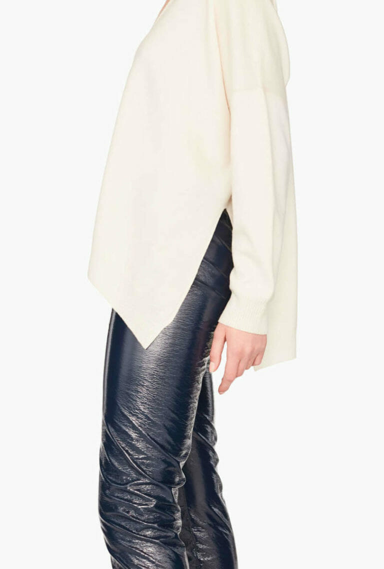 Sweter z dekoltem Liviana Conti 4
