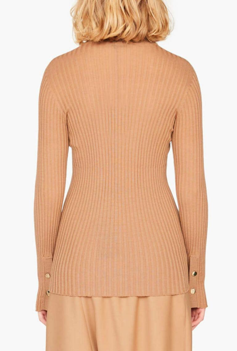 Sweter z guzikami na rękawach Liviana Conti 5