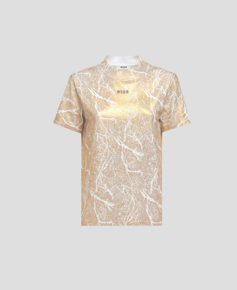 T shirt 22crack22 MSGM 2