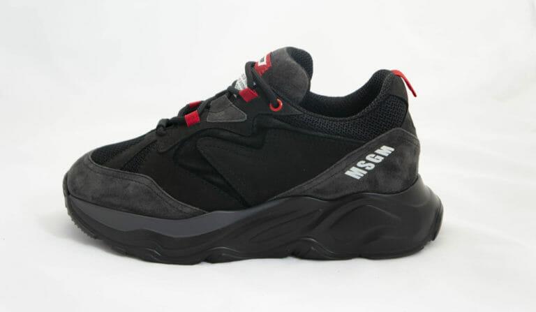 czarne sneakersy msgm 2019 2020
