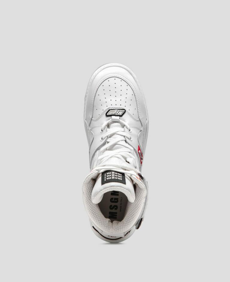 msgm buty meskie biale wysokie 2019 2020 2