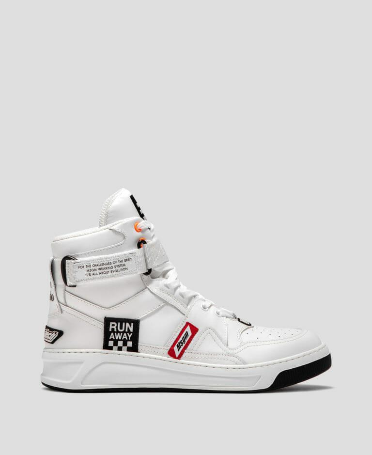 msgm buty meskie biale wysokie 2019 2020