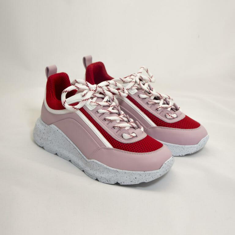 rozowe damskie buty sportowe msgm 1