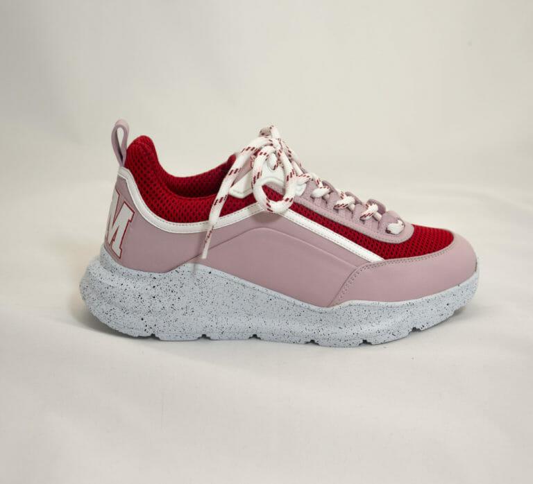 rozowe damskie buty sportowe msgm 2