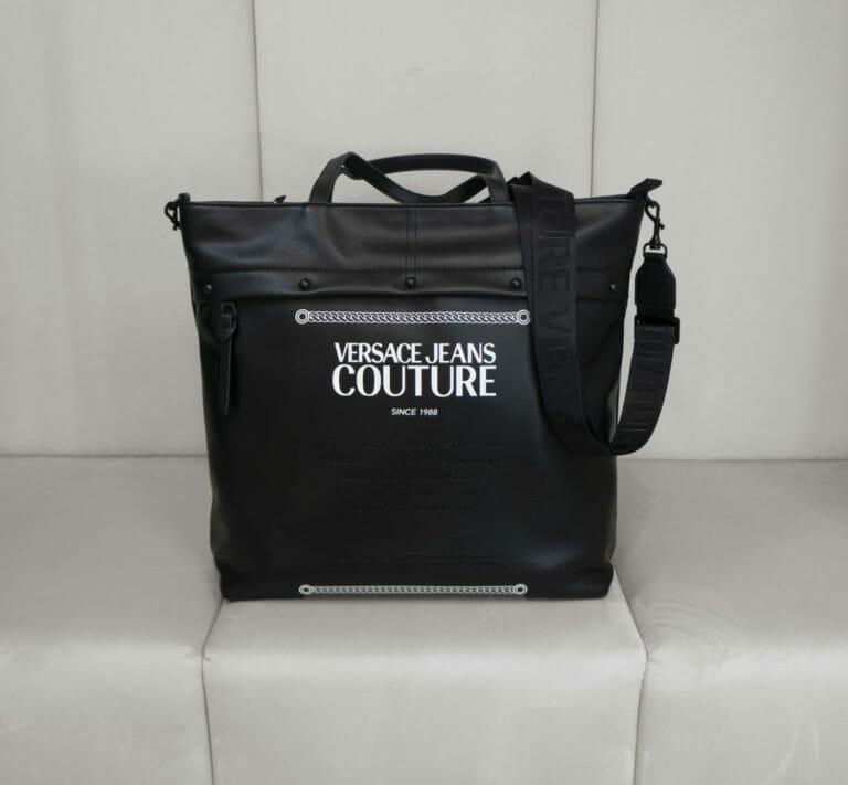 torba versace jeans couture czarna 2