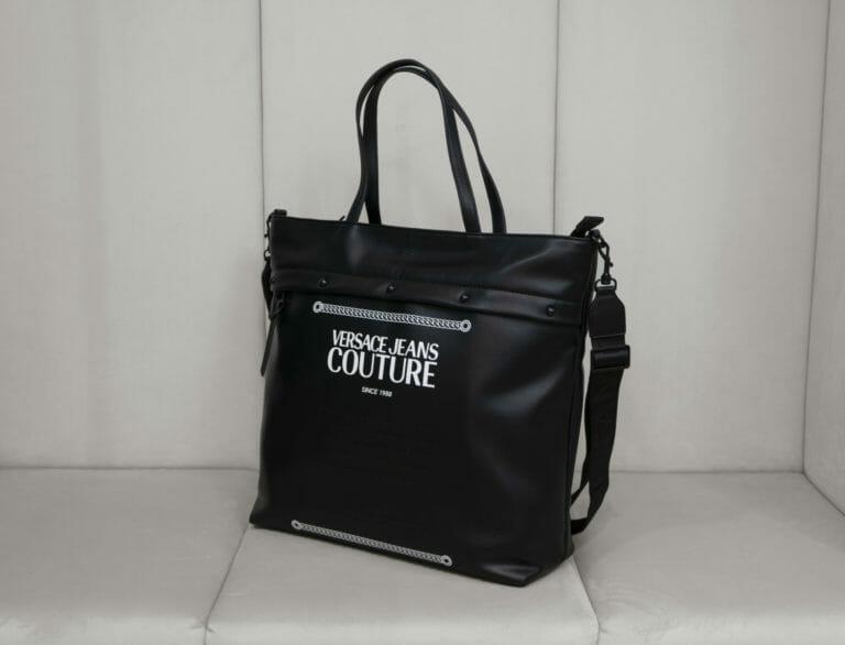 torba versace jeans couture czarna 3