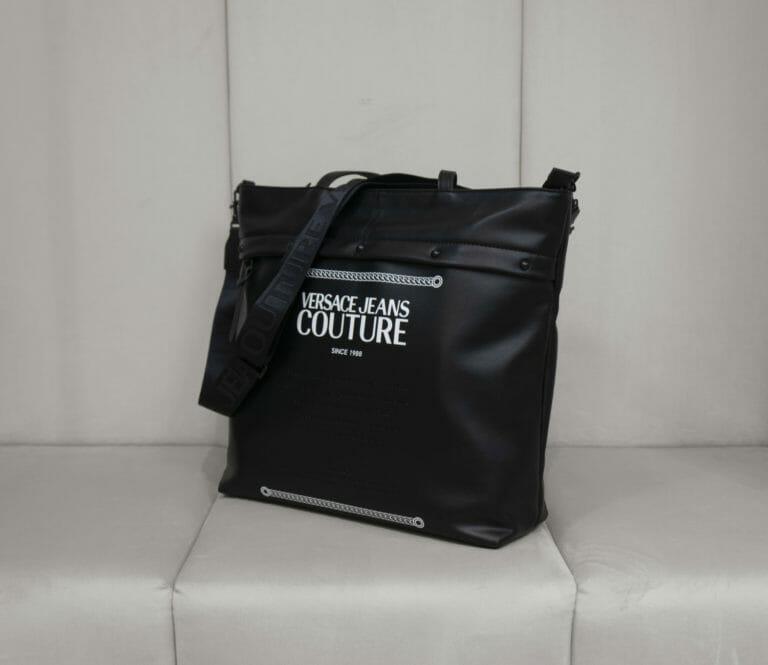 torba versace jeans couture czarna 4