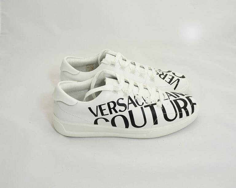 versace buty sneakersy biale