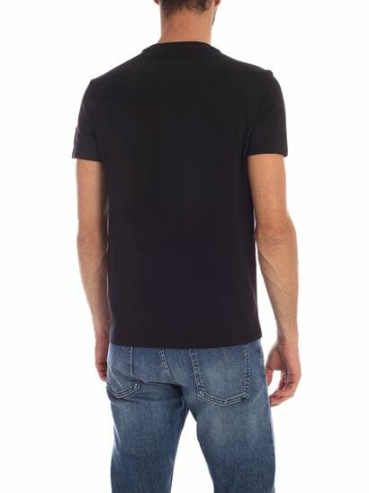 dsquared2 black tshirt with logo patch d9m202460 001 dce74871 f6bf 490b 8c54 558412800f9a