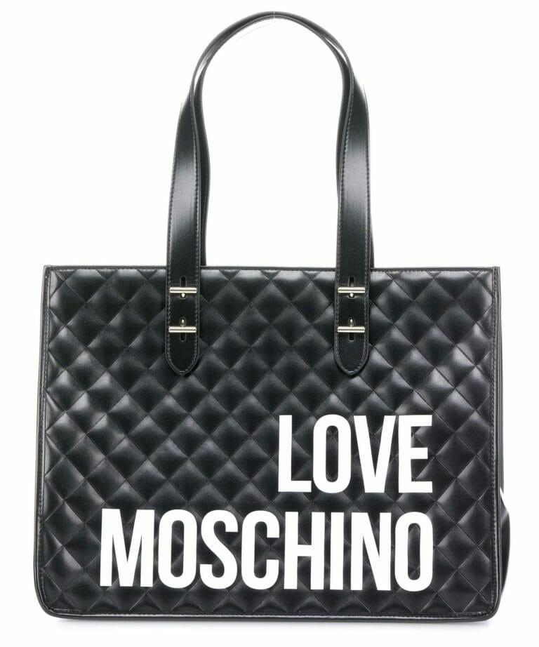 love moschino i love shopping torba na zakupy czarny jc4210pp08kb0 000 31