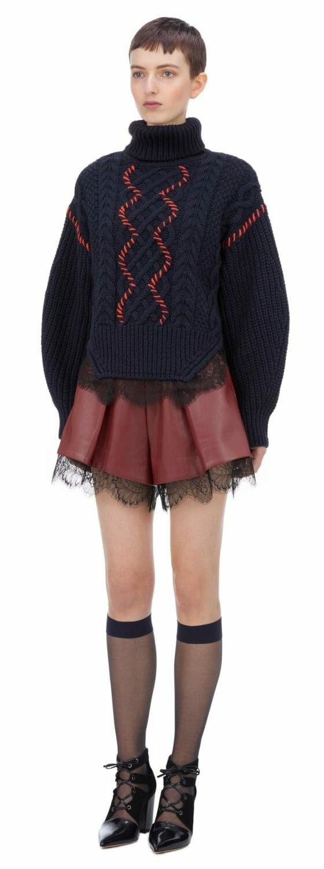 sweter z koronką self portrait2