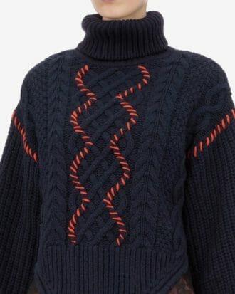 sweter z koronką self portrait4