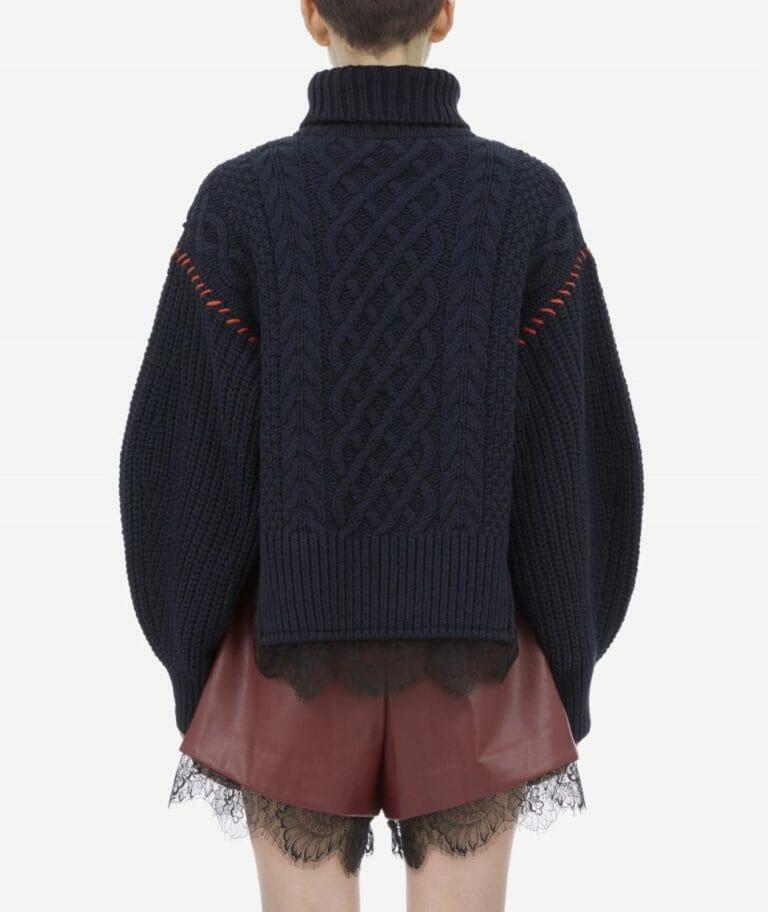 sweter z koronką self portrait5