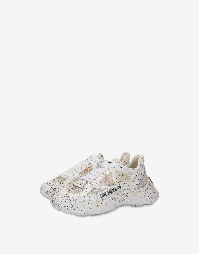 Białe sneakersy Love Moschino1