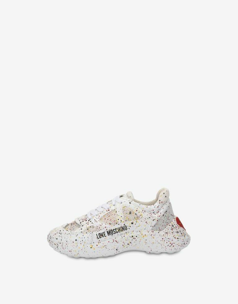 Białe sneakersy Love Moschino2