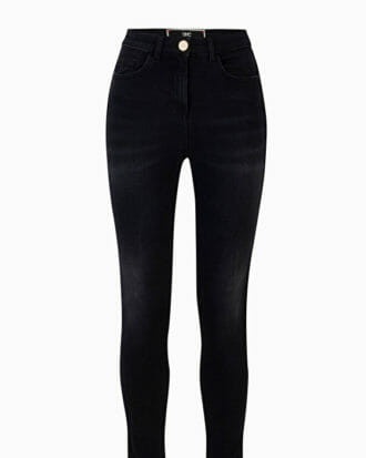 Czarne jeansy skinny Elisabetta Franchi1