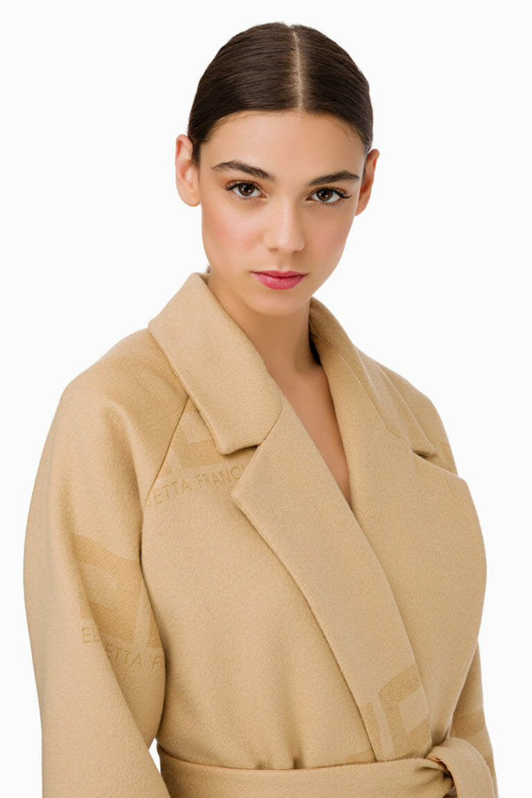 Płaszcz wełniany Elisabetta Franchi2