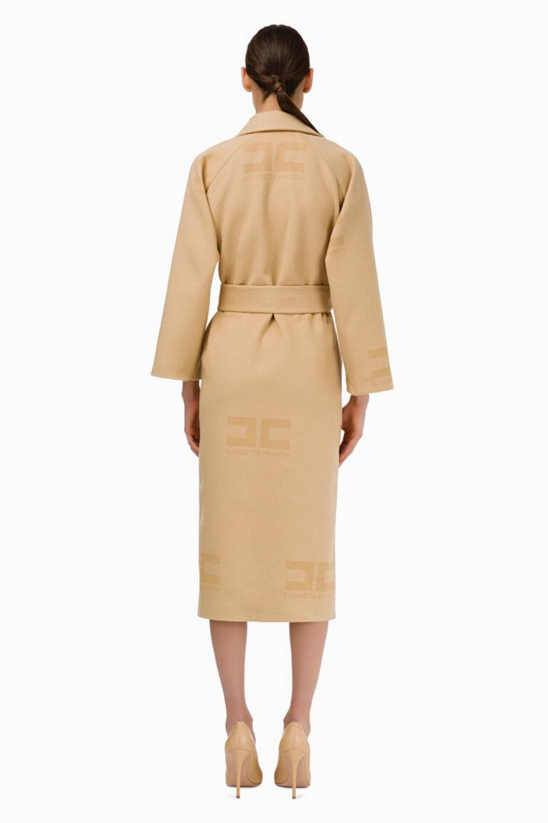 Płaszcz wełniany Elisabetta Franchi5