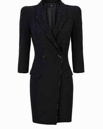 Sukienka czarna Elisabetta Franchi1