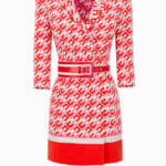 Sukienka mini w logo - Elisabetta Franchi