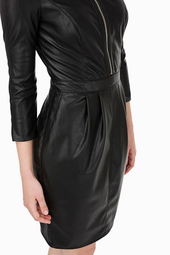 Sukienka skórzana Elisabetta Franchi3