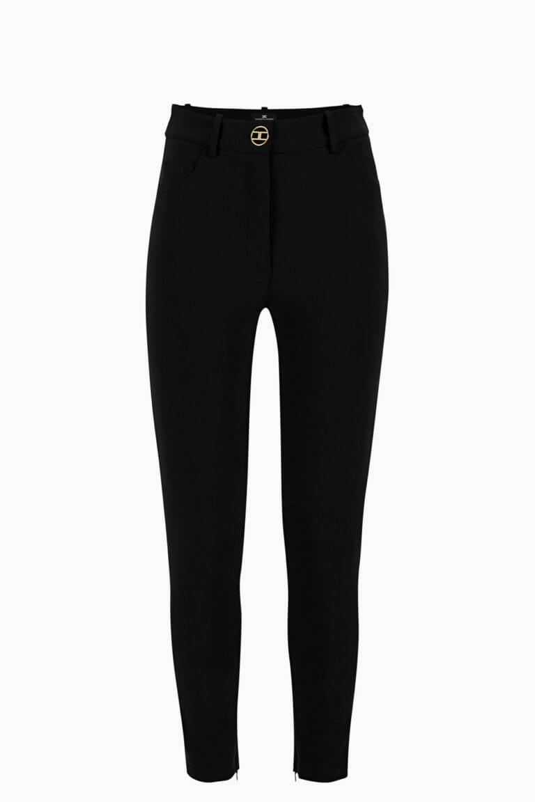 czarne spodnie elisabetta franchi2