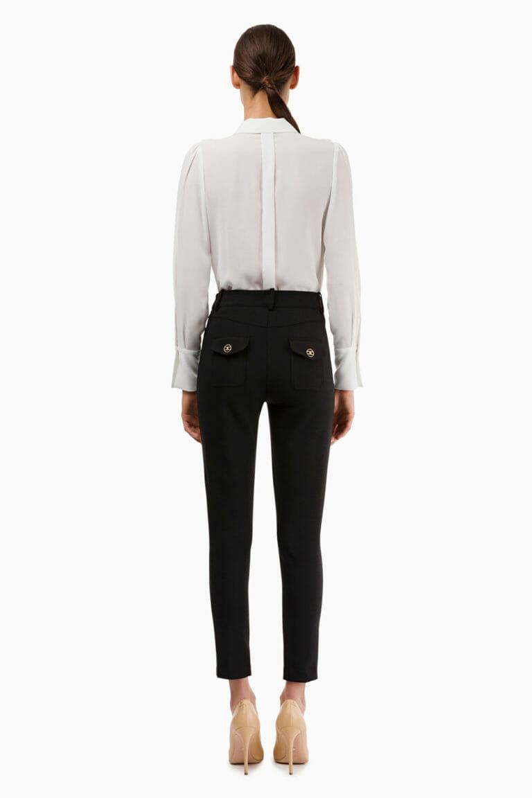 czarne spodnie elisabetta franchi5