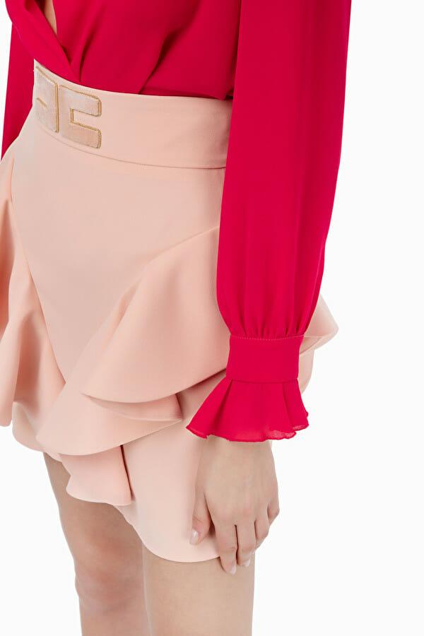 Bluzka w stylu body Elisabetta Franchi4