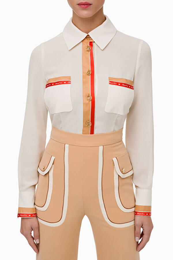 Koszula w stylu retro Elisabetta Franchi1