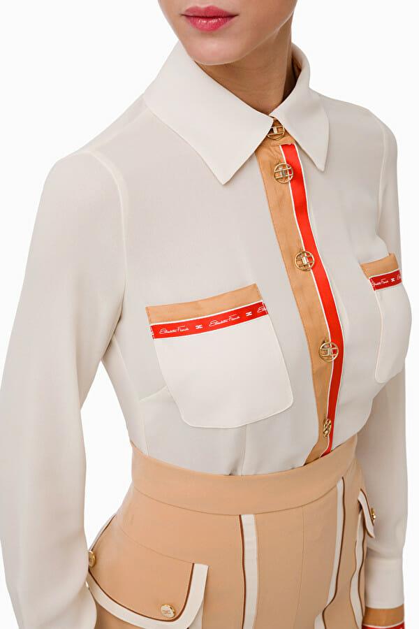 Koszula w stylu retro Elisabetta Franchi2
