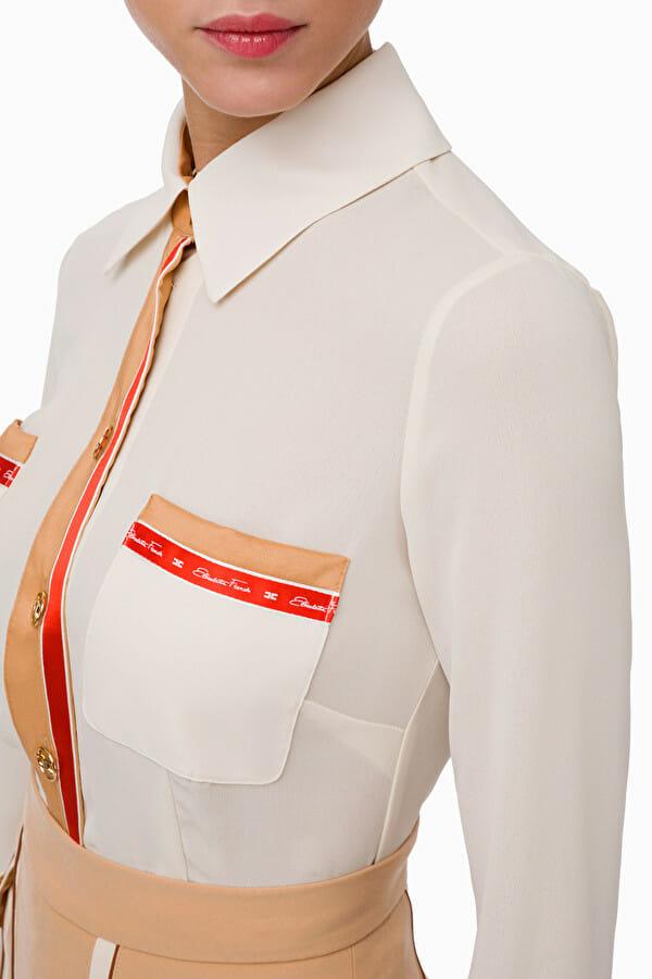 Koszula w stylu retro Elisabetta Franchi3