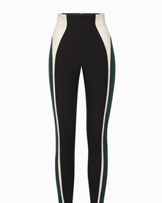 Spodnie czarno beżowe Elisabetta Franchi