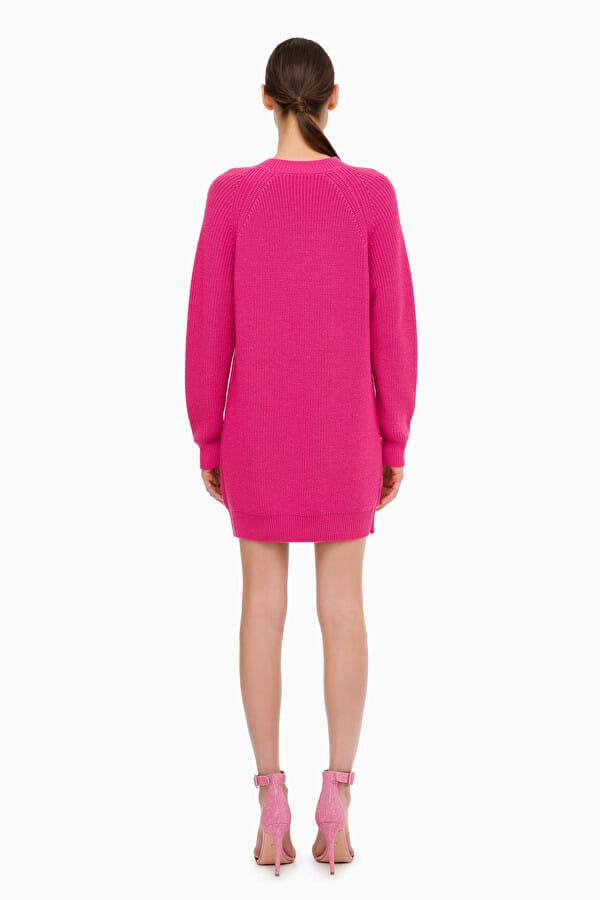 Sukienka wełniana mini Elisabetta Franchi5