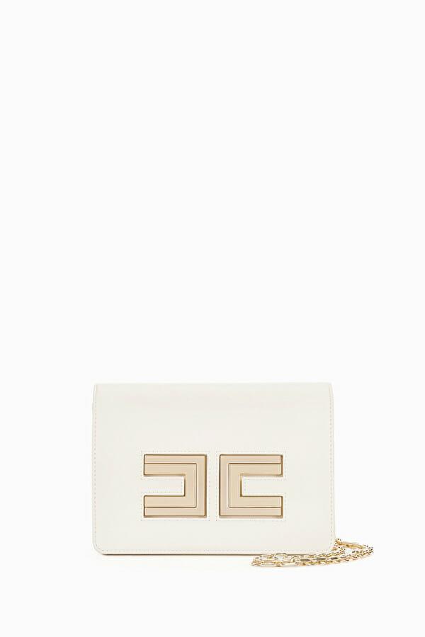 Torebka na ramię z łańcuszkiem 2 kolory Elisabetta Franchi6