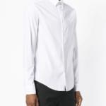 Koszula biała slim - Emporio Armani