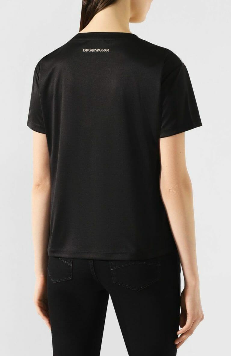 cekinowy t shirt zloto czarny 1