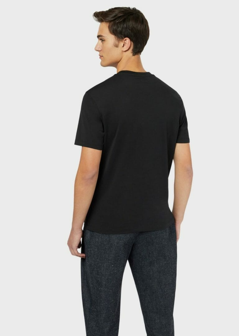 czarny meski t shirt emporio armani 1
