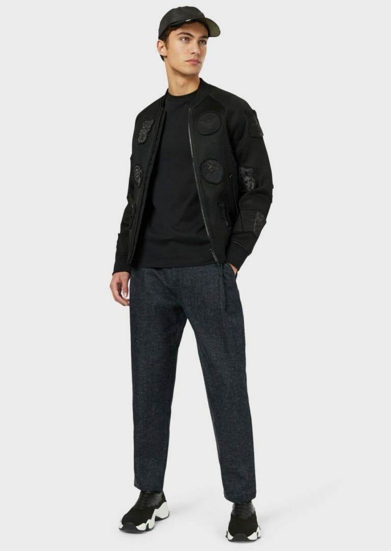 czarny meski t shirt emporio armani 5