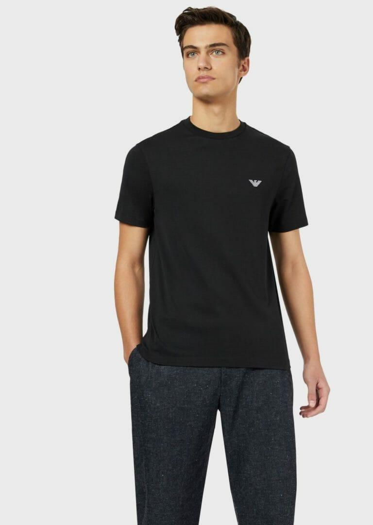 czarny meski t shirt emporio armani 6