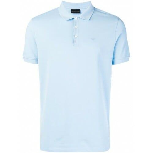 emporio armani classic polo shirt 0781 azzurro cotton 100 8n1f121j0sz 2659 500x500 0 1