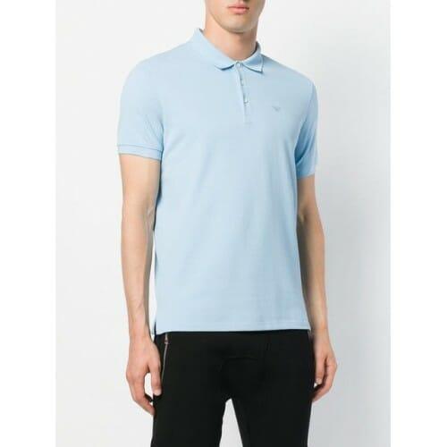 emporio armani classic polo shirt 0781 azzurro cotton 100 8n1f121j0sz 8936 500x500 0