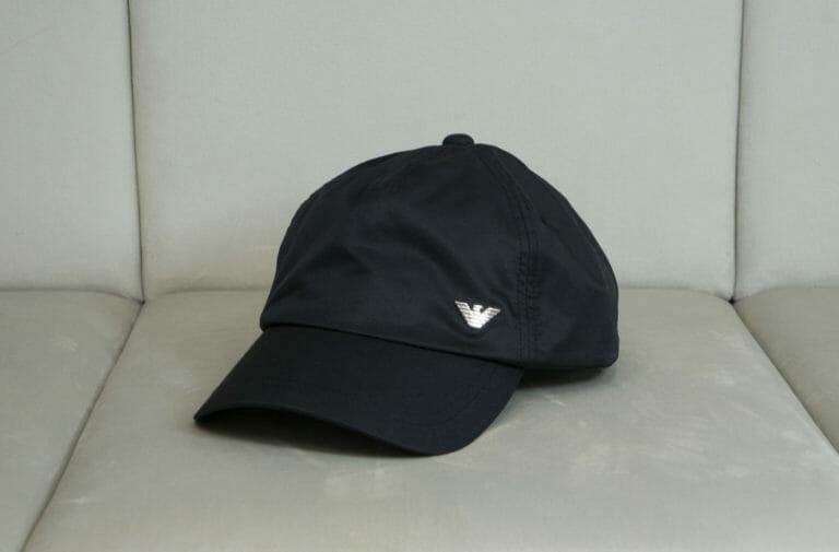 emporio armani meska czarna czapka 2