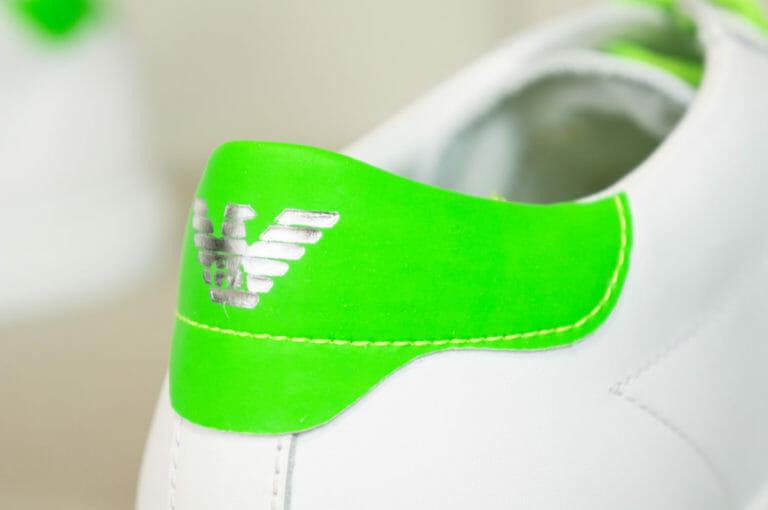 emporio armani meskie buty neonowa zielen 1