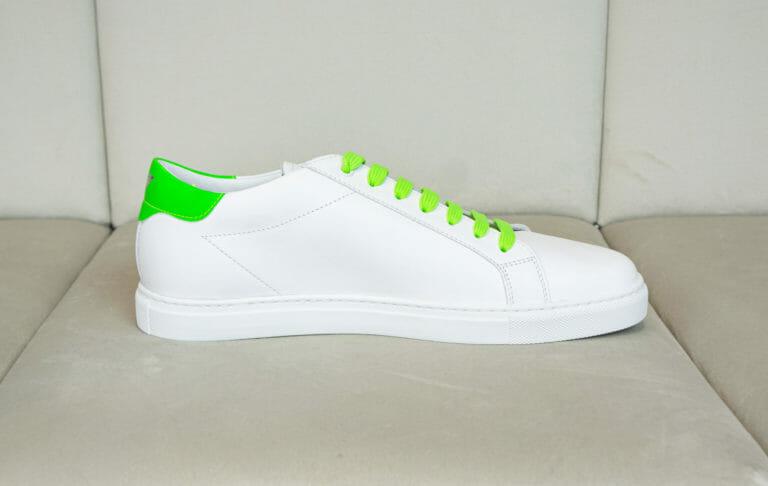 emporio armani meskie buty neonowa zielen 3
