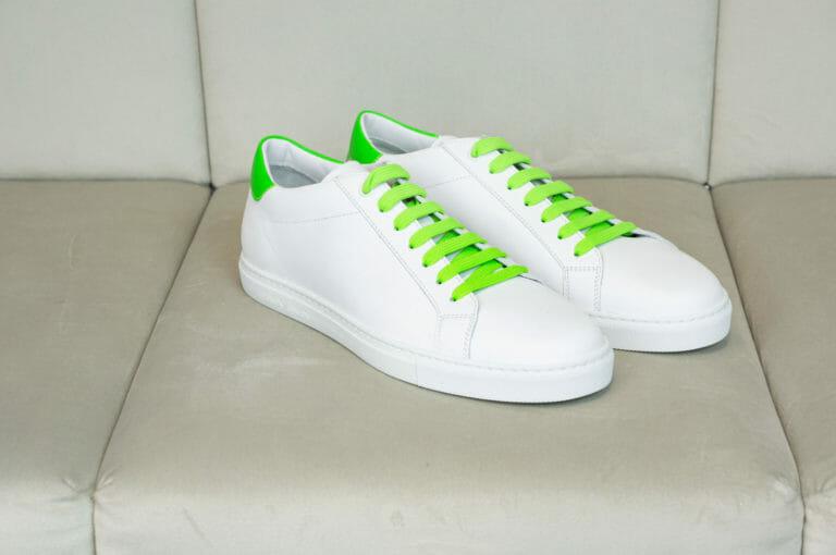 emporio armani meskie buty neonowa zielen 4