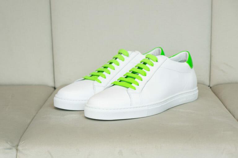 emporio armani meskie buty neonowa zielen 5