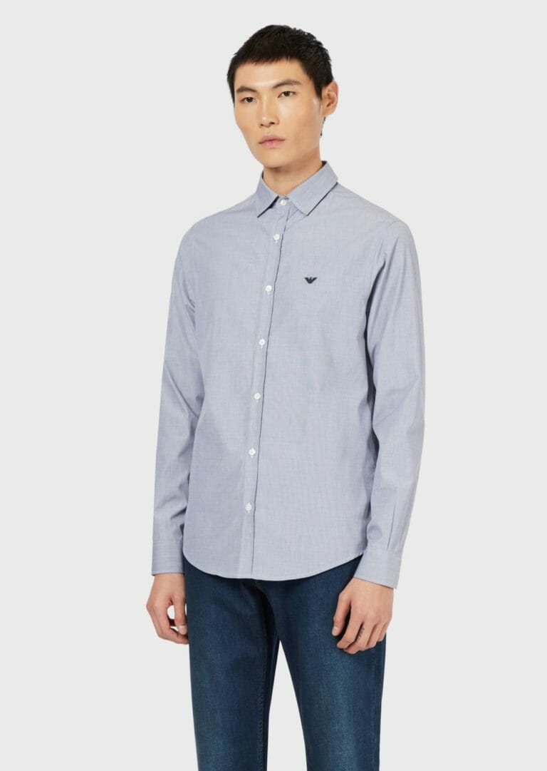 popielata koszula emporio armani 3